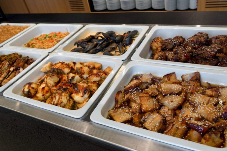 fresh buffet vakariene