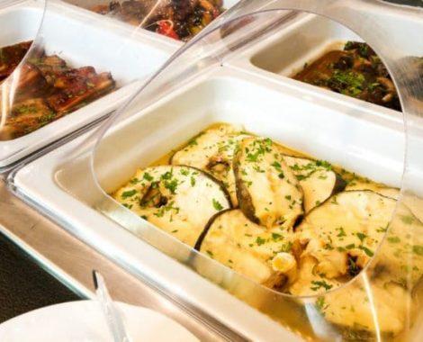 Fresh buffet maistas
